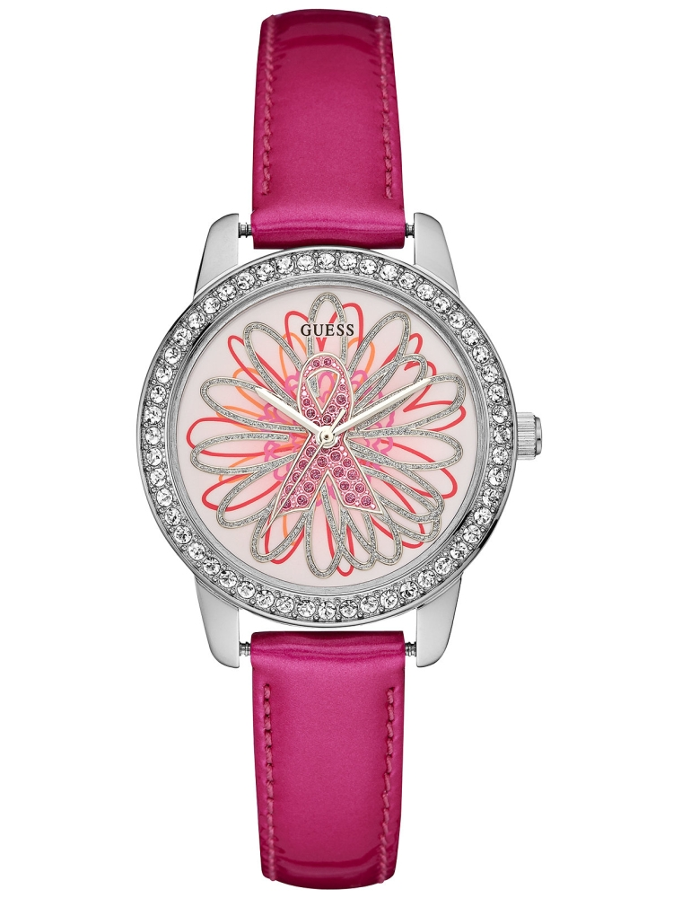 Guess 2015 Sparkling Pink Leather U0032L5-NC
