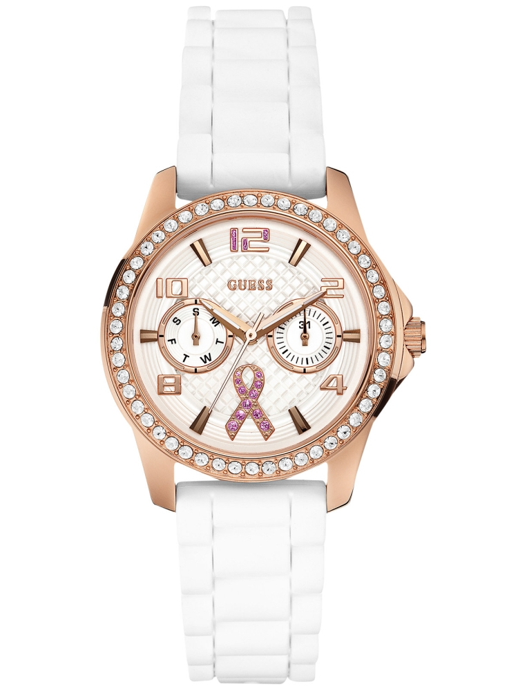Guess 2015 Sparkling Pink Multifunction U0032L3-NC