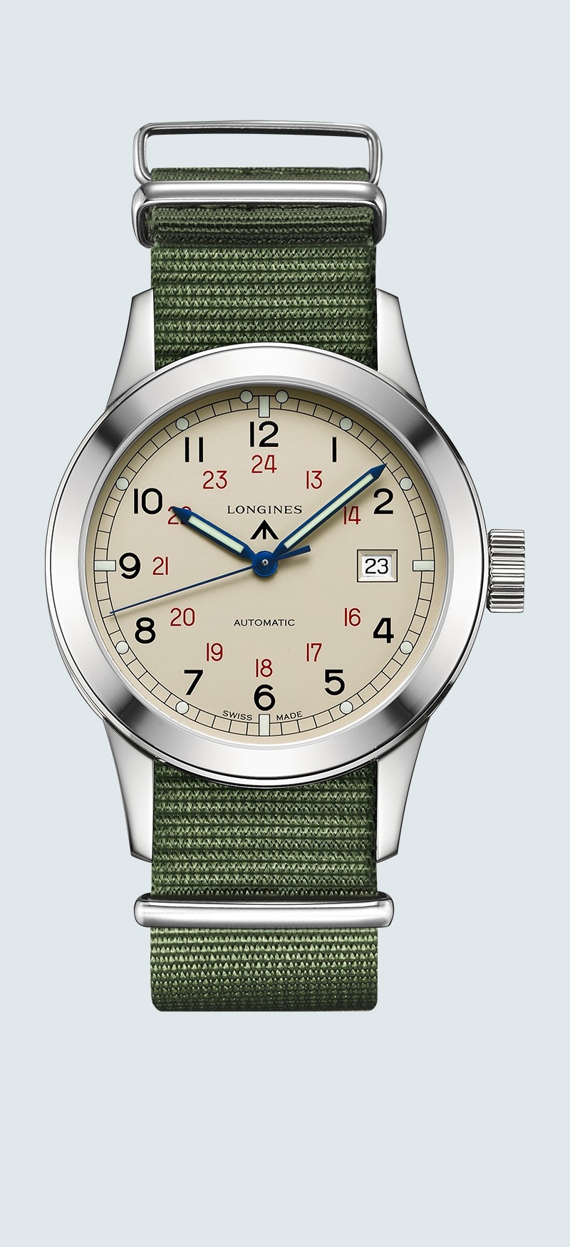Longines Heritage Military COSD