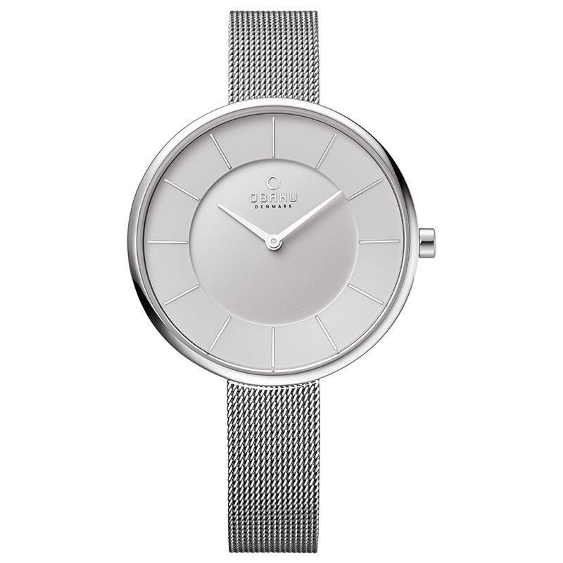 Recenze nových dámských hodinek značky Obaku - TimeStore.cz 46105d654d