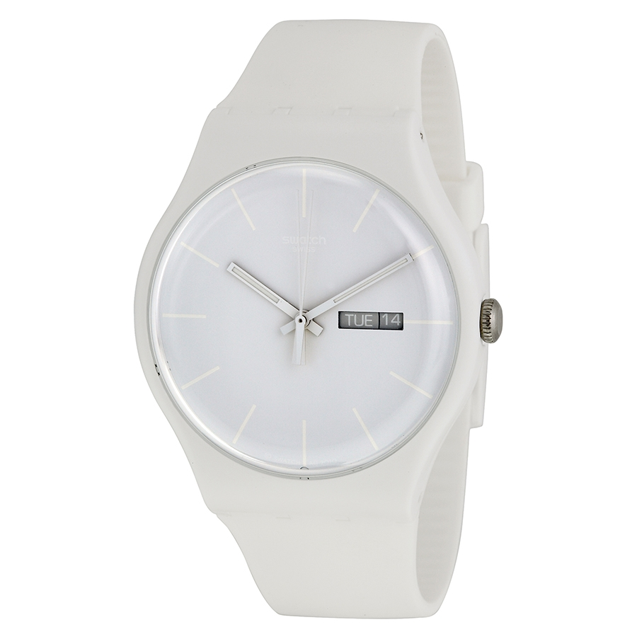 Swatch White Rebel SUOW 701