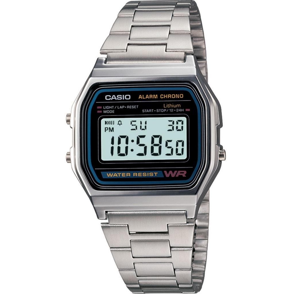 Hodinky Casio Retro Chronograph A158WA-1DF b652c455c26