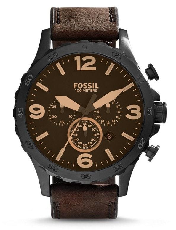 Fossil Nate Chronograph - JR1487 - TimeStore.cz a3b03ac4bf4