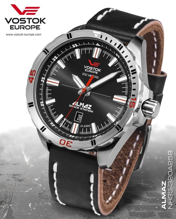 Vostok Europe Almaz Automatic - NH35A-320A258 - TimeStore.cz 2f3608d03ea