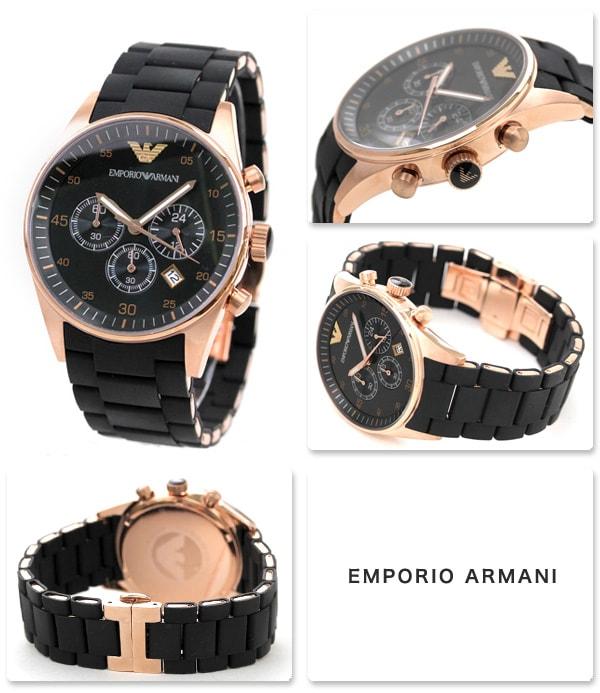 emporio armani sportivo watch chronograph ar5905 нанесения