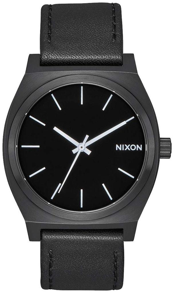 Nixon Time Teller All Black White - A045-756 - TimeStore.cz b24d07348b9