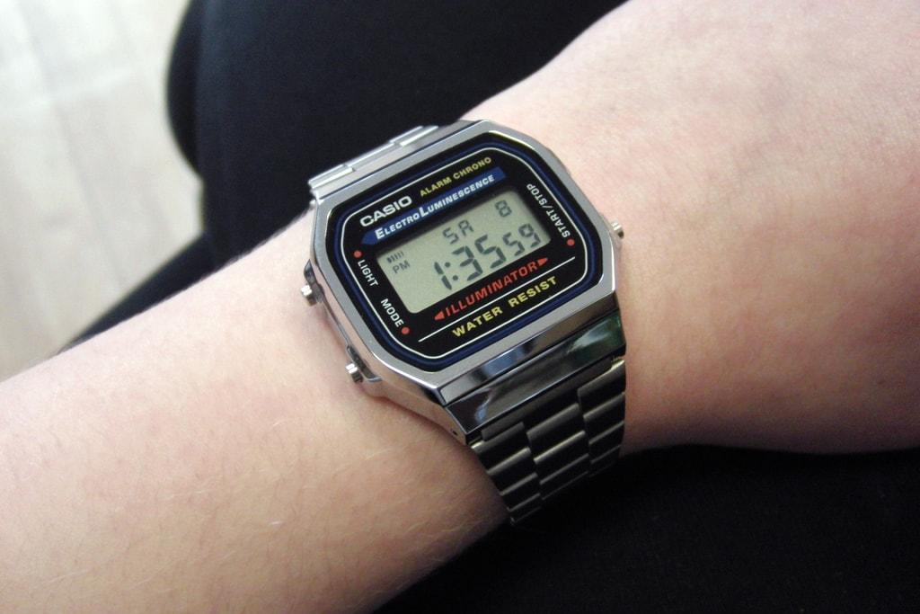 Casio Collection - A168WA-1YES - TimeStore.cz 30c62e0966