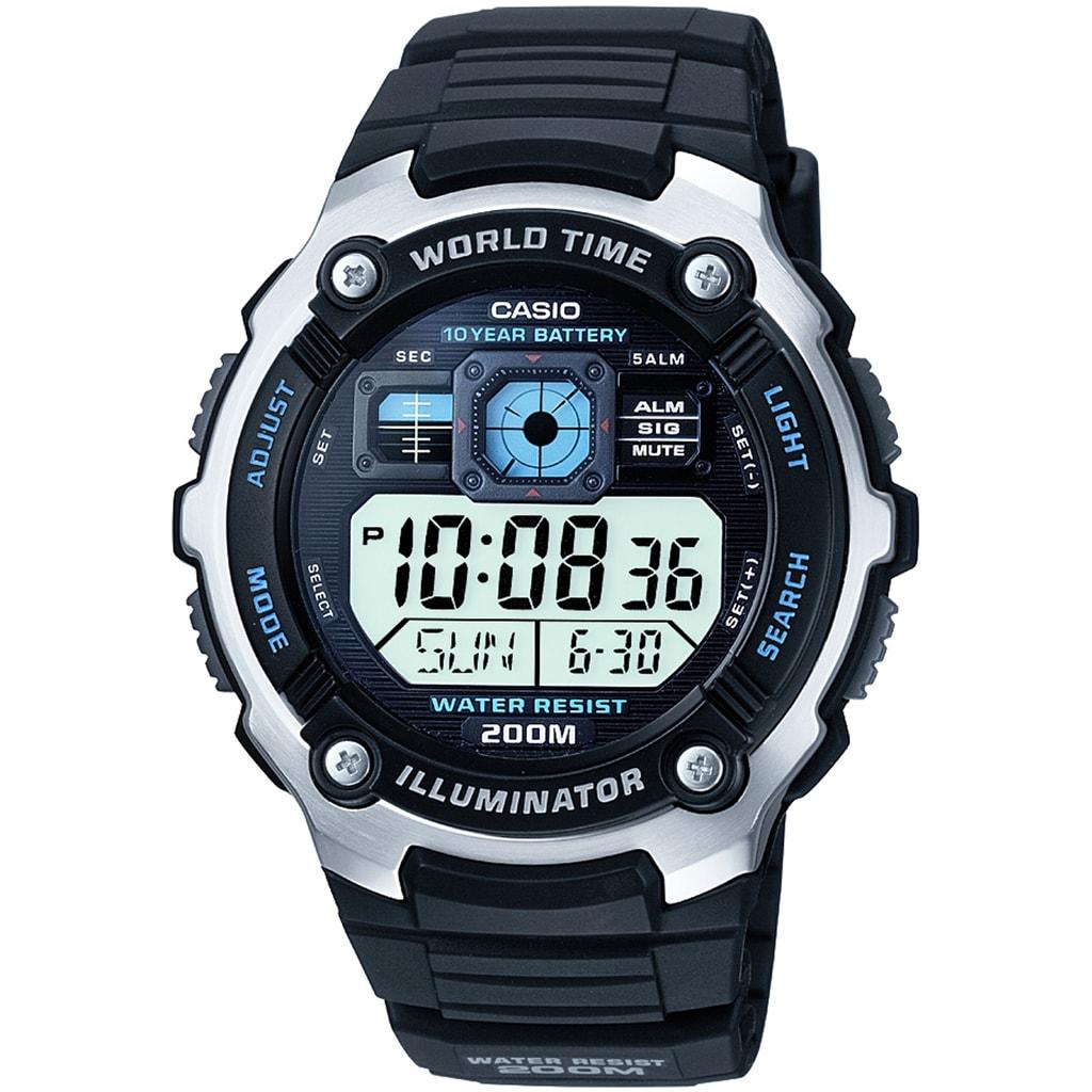 Hodinky Casio World Timer AE-2000W-1AVEF e539ce35e9