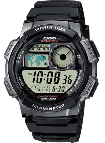 Casio World Timer - AE-1000W-1BVEF - TimeStore.cz c09f54c1ae1