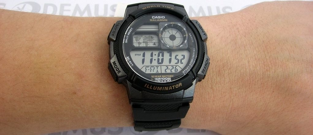 Casio World Timer - AE-1000W-1AVEF - TimeStore.cz 996fd8681cf