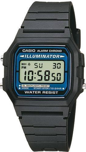 376783e24af Casio Retro Chronograph - F-105W-1AWYEF - TimeStore.cz