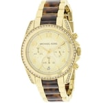 Michael Kors Blair Gold-Tone Chronograph
