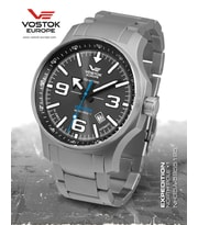 "Hodinky Vostok Europe Expedition ""NORTH POLE-1"" Automatic NH35-5955195B"