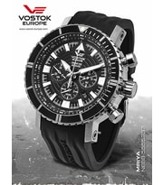 Hodinky Vostok Europe AN-225 MRIYA Automatic Chrono NE88-5555237