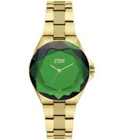 Hodinky Storm Crystana Gold Green 47254/GN