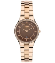 Hodinky Storm Slim-X Crystal Rose Gold 47189/RG