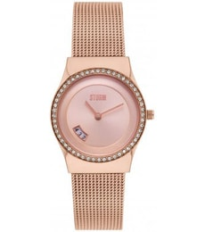 Hodinky Storm Crystal Rose Gold 47385/RG