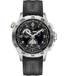 Hodinky Hamilton Khaki Aviation  Worldtimer Chrono Quartz H76714335