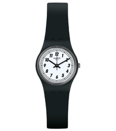 Hodinky Swatch Something Black LB184