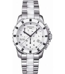 Hodinky Certina DS First Lady Ceramic Chronograph C014.217.11.011.01
