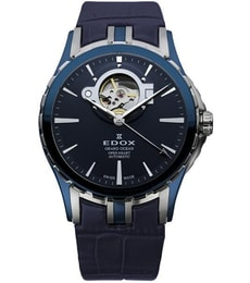 Hodinky Edox Grand Ocean Automatic Open Heart 85008 357B BUIN