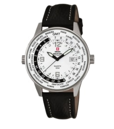 Hodinky Swiss Military  by Chrono Worldtimer SM34007.04 – (20021ST-2L)