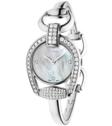 Hodinky Gucci Horsebit 95-Diamond Ladies Watch YA139505