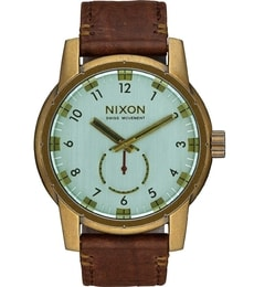 Hodinky Nixon Patroit Leather Brass A938-2223
