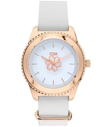Hodinky Storm Leora Leather Rose Gold 47312/RG