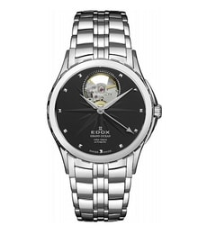 Hodinky Edox Grand Ocean Automatic Open Heart 85013 3 NIN