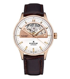 Hodinky Edox  Les Vauberts – Open Heart Automatic 85019 37RA AIR
