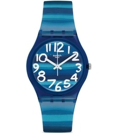 Hodinky Swatch Linajola Blue GN237 adce425a29