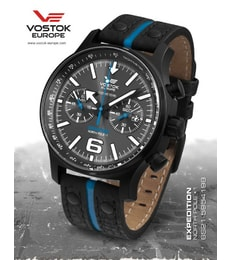 "Hodinky Vostok Europe Expedition ""NORTH POLE-1"" Chrono 6S21-5954198"