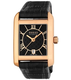 Hodinky Gucci Handmaster Automatic 18K Pink Gold Small Watch YA135502