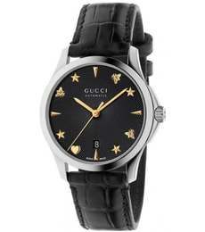 Hodinky Gucci G-Timeless Black Alligator YA126469