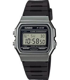 Hodinky Casio Collection F-91WM-1BEF
