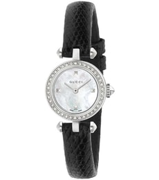 Hodinky Gucci Diamantissima Small White Mother of Pearl YA141511