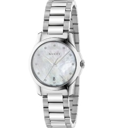 Hodinky Gucci G-Timeless Mother of Pearl Diamond YA126542