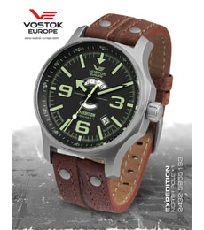 "Hodinky Vostok Europe Expedition ""NORTH POLE-1"" Day & Night 2432-5955193"