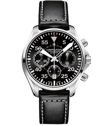 Hodinky Hamilton Aviation PILOT AUTO CHRONO H64666735