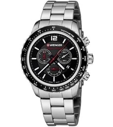 Hodinky Wenger Roadster Black Night Chrono 01.0853.107