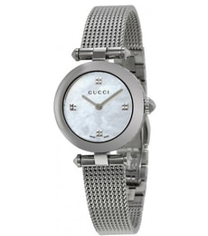 Hodinky Gucci Diamantissima Mother of Pearl YA141504