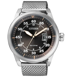 Hodinky Citizen Silver Round AW1360-55F