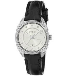 Hodinky Gucci LADIES G-FRAME DIAMOND STRAP WATCH YA142507