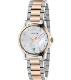 Hodinky Gucci G-Timeless Diamond Mother of Pearl YA126544