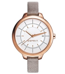 Hodinky Esprit Lynn taupe rose gold ES108192003
