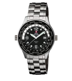 Hodinky Swiss Military  by Chrono Worldtimer SM34007.01 (20021ST-1M)