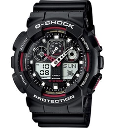 Hodinky Casio G-Shock Chronograph GA-100-1A4ER ab6efe21507