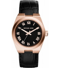 Hodinky Michael Kors Channing Black Dial Rose MK2358
