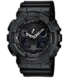 Hodinky Casio G-Shock Chronograph GA-100-1A1ER 959e2fbeeb